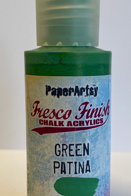 Green Patina Paint by PaperArtsy