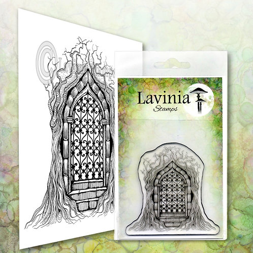 Forest Temple Stamp by Lavinia