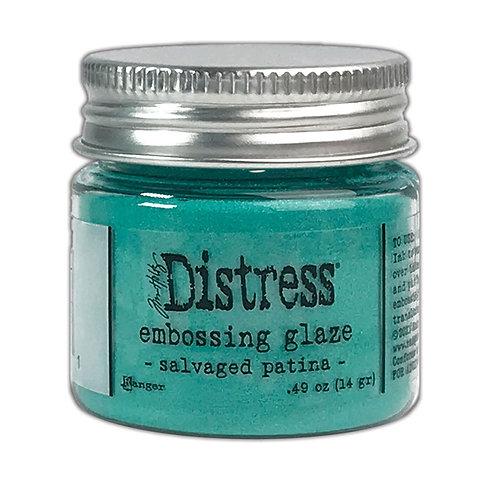 Salvaged Patina Embossing Glaze