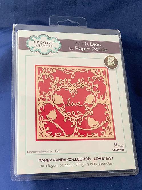 Paper Panda, Lover nest craft die