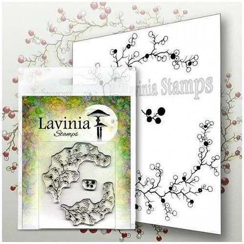 Berry Wreath Stamp by Lavinia
