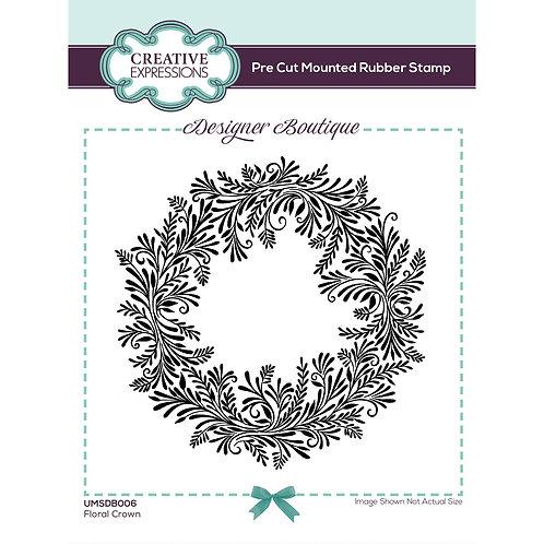 Floral Crown Stamp by Designer Boutique