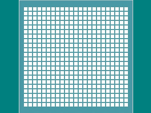 Grid Stencil by Funky Fossil
