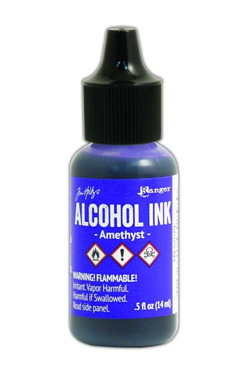 ALCOHOL INK - AMETHYST