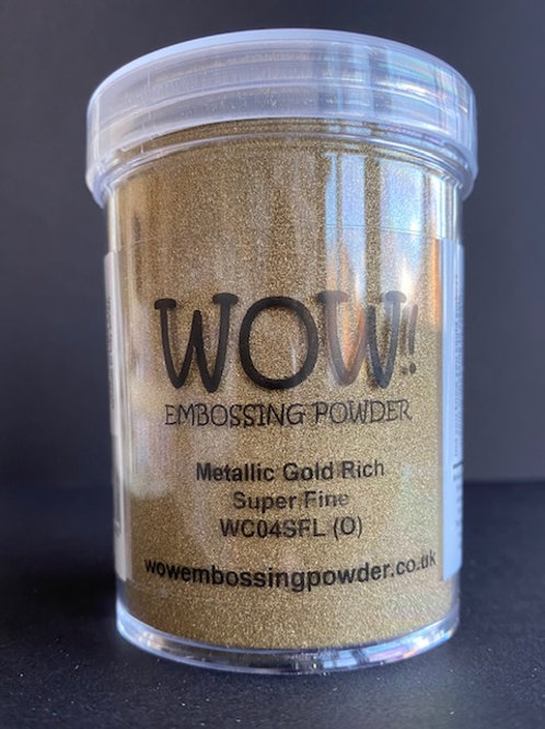 Large Embossing Powder - Metallic Gold Rich Super Fine