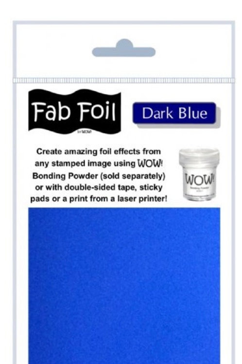 WOW FAB FOIL - DARK BLUE