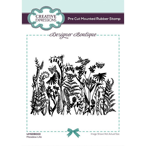 Meadow Life Stamp by Designer Boutique