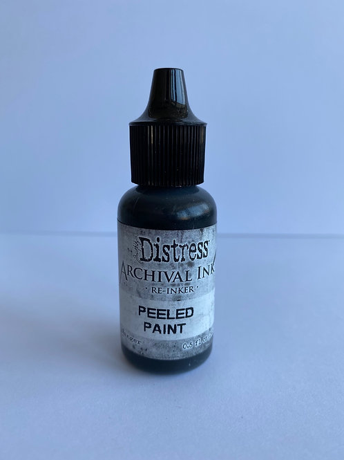 ARCHIVAL INK PAD RE-INKER - PEELED PAINT