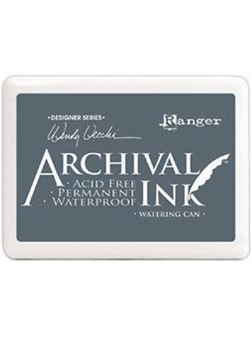 ARCHIVAL INK PAD -WATERING CAN