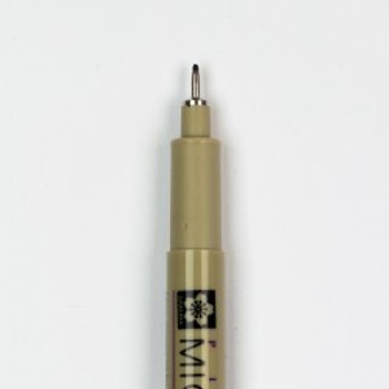 08 Pigma Micron Fineline Pen  0.50 mm Black