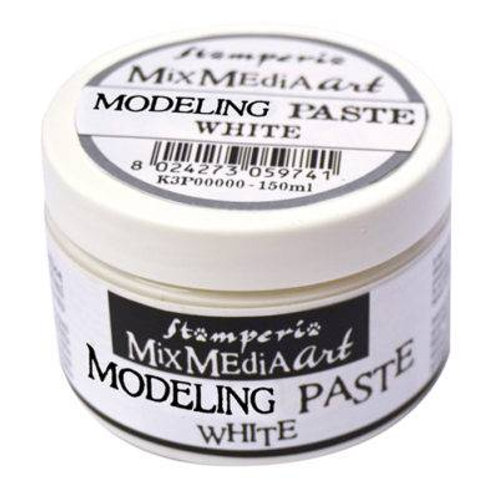 Stamperia - White Modelling Paste