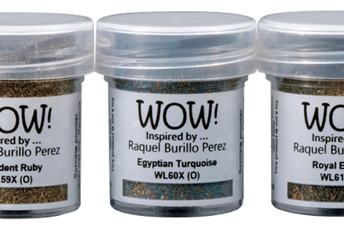 WOW Trio Pack Ancient Jewels by Raquel Burillo Perez