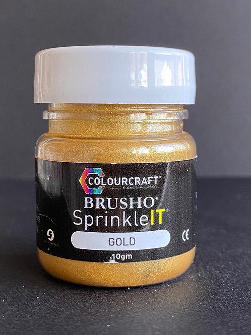 BRUSHO SPRINKLE IT - GOLD