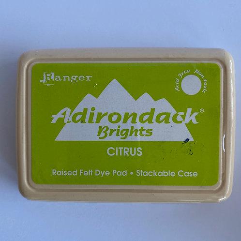 ADIRONDACK INK PAD - CITRUS