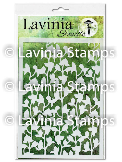 Orchid Stencil by Lavinia