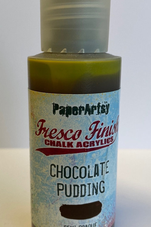 Chocolate Pudding Paint by PaperArtsy