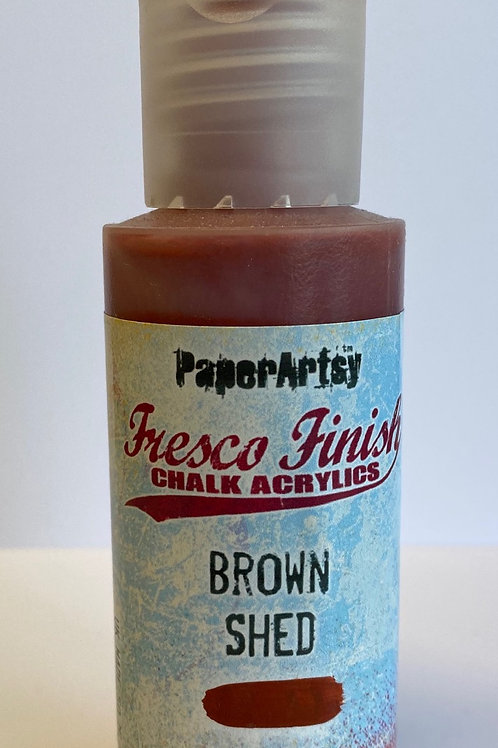 Brown Shed Paint by PaperArtsy