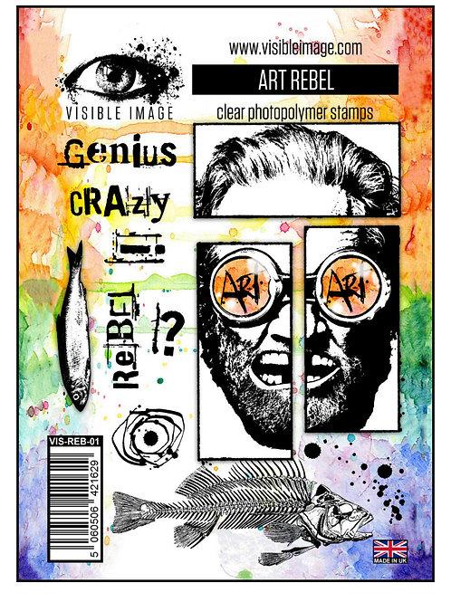 Art Rebel Stamp - Visible Image