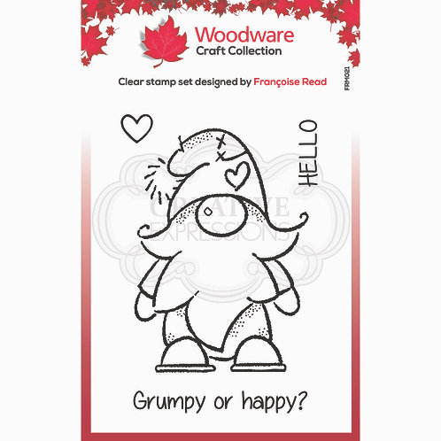 Gnome Stamp by Woodware