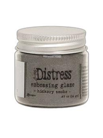 Hickory Smoke Distress Embossing Glaze