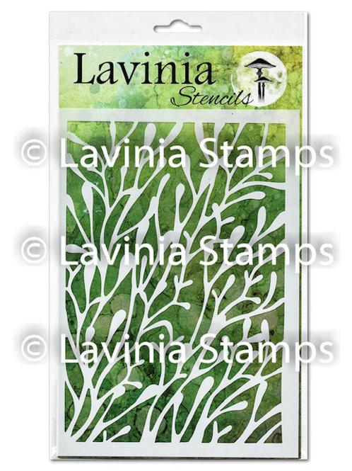 Coral Stencil by Lavinia
