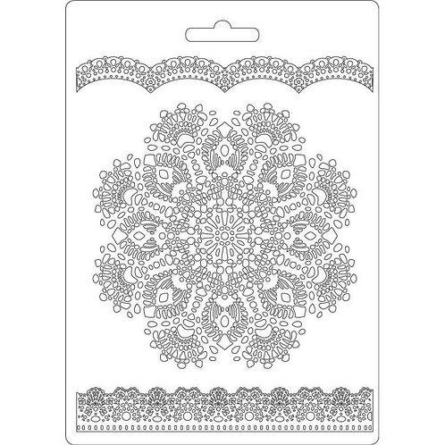 Stamperia A5 Mould - Doily Pattern