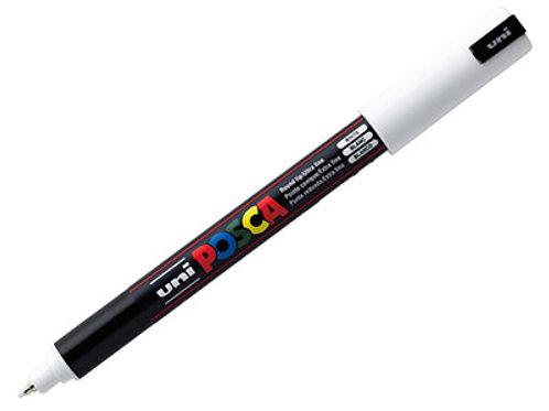 Posca Pen - White - 0.7mm