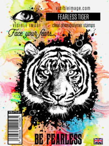 Fearless Tiger Stamp by Visible Image