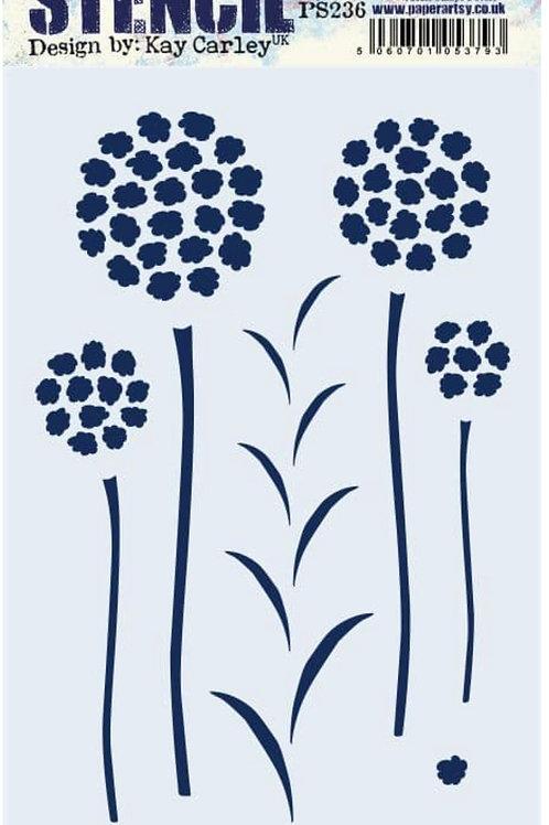 Kay Carley Stencil PS236