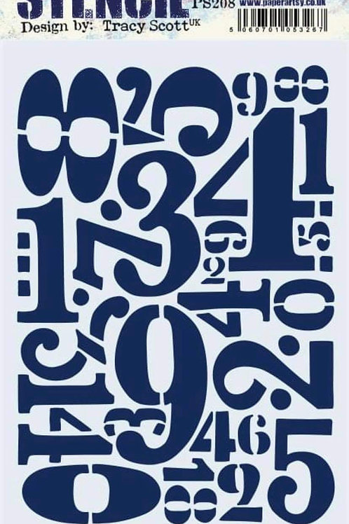 Tracy Scott Stencil PS208