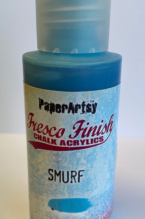 Smurf Paint by PaperArtsy