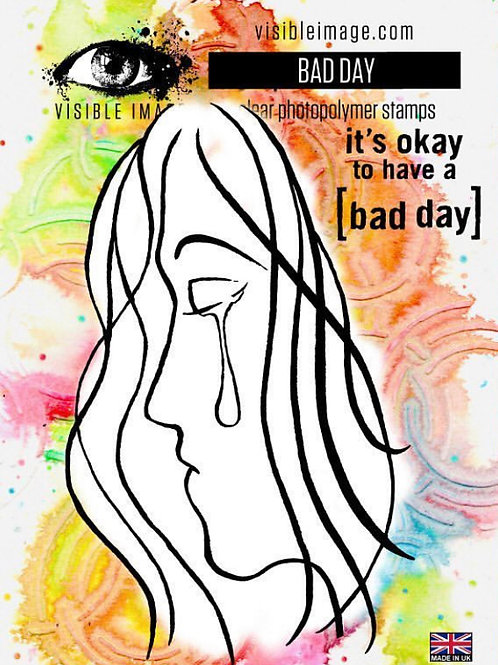 Bad Day Stamp - Visible Image