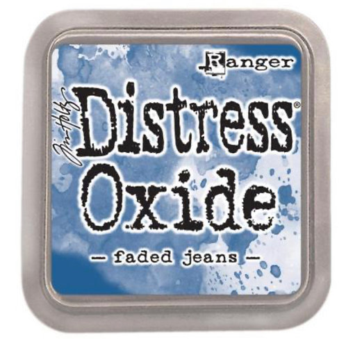 FADED JEANS DISTRESS OXIDE