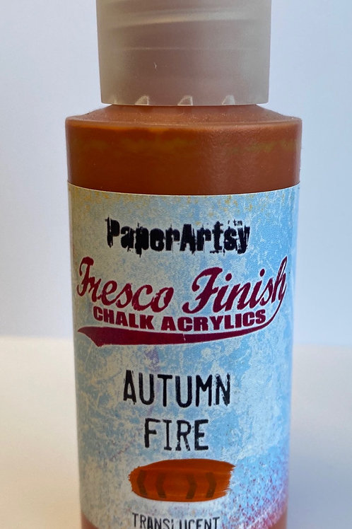 Autumn Fire Paint by PaperArtsy