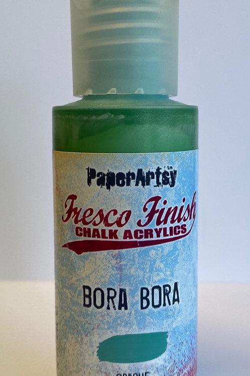Bora Bora Paint by PaperArtsy