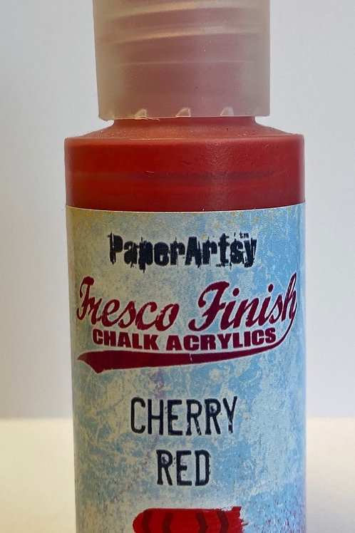 Cherry Red Paint by PaperArsty