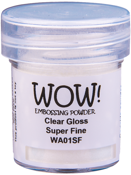 Embossing Powder - Clear Gloss Super Fine by Wow