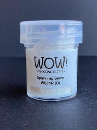 Embossing Powder - Sparkling Snow