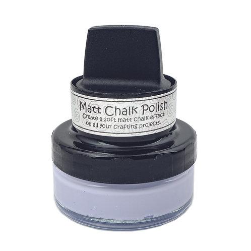 White Matt chalk polish