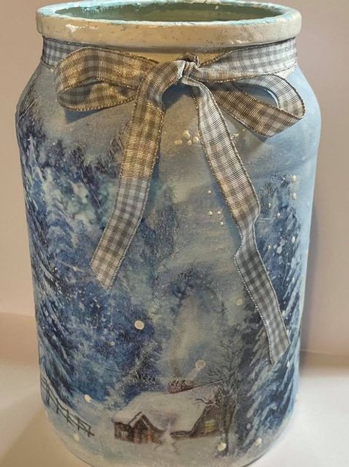 Christmas Decorative Jar Workshop With Sharon Saturday 5th Dec 10:30 GMT