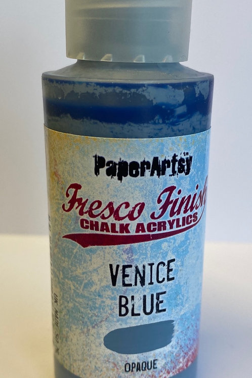 Venice Blue Paint by PaperArtsy