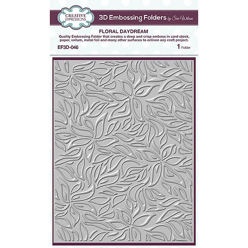 3D Embossing Folder Floral Daydream