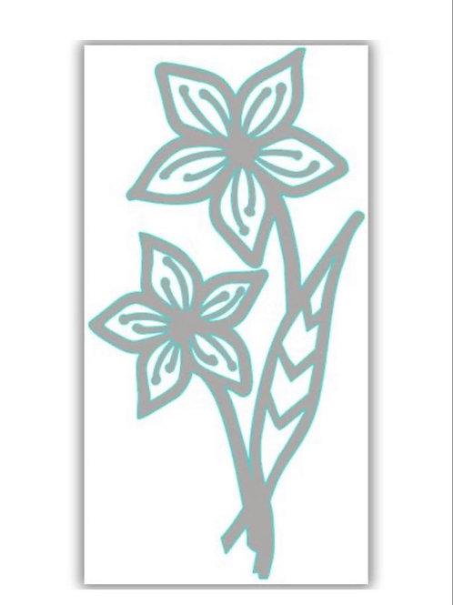 Friendship Flower Die by Julie Hickey