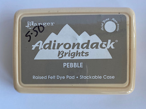 ADIRONDACK INK PAD - PEBBLE