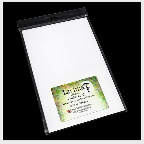 A5 Multifarious Smooth Card 20 Sheets by Lavinia