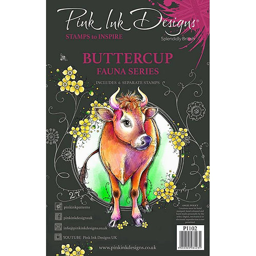 Buttercup Stamp Set by Pink Ink