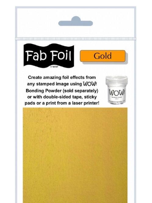 WOW FAB FOIL - GOLD