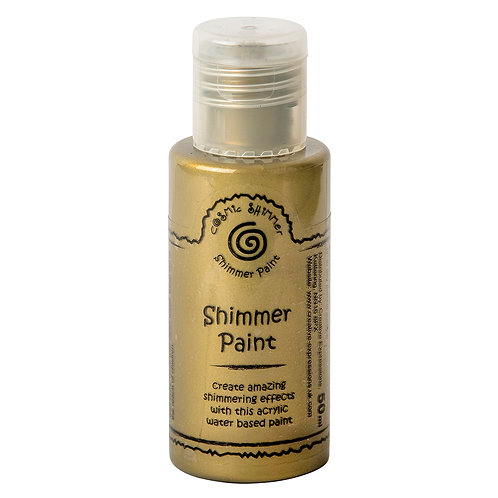 Cosmic Shimmer shimmer paint antique gold