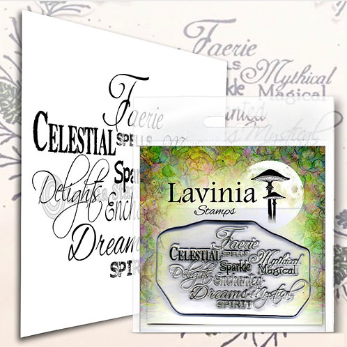 Faerie Spells Stamp by Lavinia