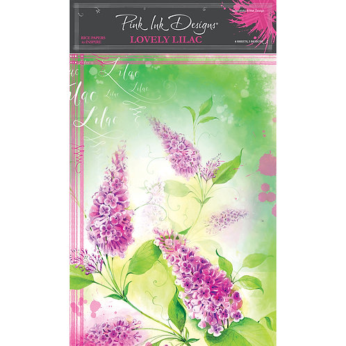 Pink Ink Designs Lovely Lilac Rice paper